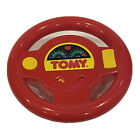 UNTESTED TOMY Steering Wheel Remote Control For Car Rc Turbo Red Racing Toy 1995