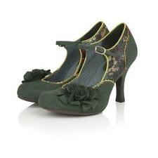 Ruby Shoo Ashley Green Floral Heels