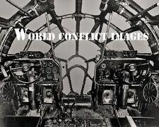 USAAF WW2 Boeing B-29 Bomber Cockpit #7 8x10 Photo WWII