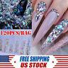120 AB Diamond Gems Nail Glitter Crystal Rhinestones Gemstone Nail Art Decors