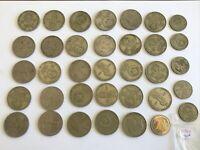 LOT DE MONNAIES RUSSES ANCIENNES A IDENTIFIER - REF51910