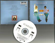 SCARLET Love Hangover w/ 2 UNRELEASED & No strings Version CD single USA Seller