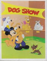 """Vintage Disney Mickey Pluto Dog Show 100 piece 12"""" x 16"""" puzzle Whitman SEALED!"""