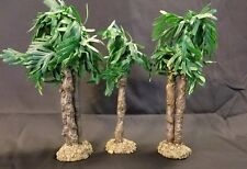 "Roman, Inc. Fontanini Date Palm Trees  *3 Piece Set* for 5"" Figures Figurines"