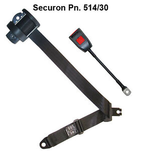NEW Securon Seat Belt 514/30 Lap & Diagonal Belt x1