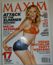 Maxim Magazine Malin Akerman & Vegas Bachelor Party May 2012 NO ML 033015R