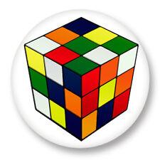 Porte clé Keychain Ø45mm Image Rubik's Cube Cube de Rubik Casse Tête