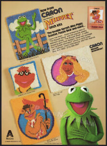Jim Henson's MUPPET Latch Kits__Orig. 1980 Trade Print AD / Caron ADVERTISEMENT