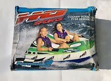 HO SPORTS Formula 2 Towable Boat Tube Cockpit Style Seating 2-Person