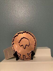 Copper Cookie Cutter Wreath