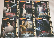 HOT WHEELS 2015 POP CULTURE STAR WARS SET OF 6