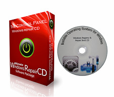 WINDOWS 10 7 8 XP VISTA REPAIR PC + LAPTOP CD BOOT RECOVERY RESTORE PRO DISC DVD