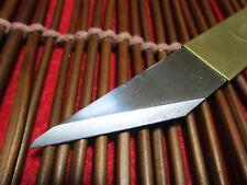 Left Hand / Japanese/Brass Handle Kiridashi Craft Pocket Knife Made in japan