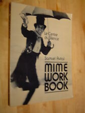 Avital Mime work book exercices travail mime illustré