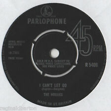 "The Hollies - I Can't let Go 7"" Single 1966"
