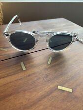 Oliver Peoples OV 5217S Gregory Peck Sun 1101R8 Crystal w/Indigo Sunglasses