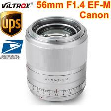 Viltrox 56mm F1.4 STM Auto Focus Prime Lens APS-C For Canon EF-M EOS Mount M200