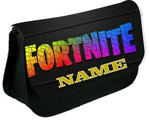 FORTNITE LOGO  Personalised Pencil Case, make up bag, school any name