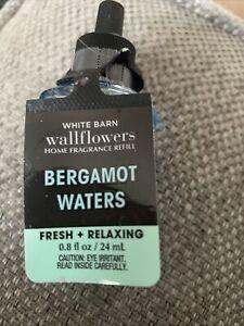 BN Bath And Body Works Wallflower Refill Bergamot Waters