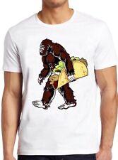 Bigfoot T Shirt Sasquatch Funny Camping Taco Cool Gift Tee 168