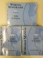 2006 Ford E-Series Van Workshop Manuals Volumes 1&2 and Wiring Diagrams
