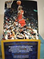 FOTO MICHAEL JORDAN  Autografata Signed JORDAN 23 Photo Autograph  Chicago Bulls