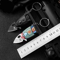 Mini Pocket Rocket Folding Knife Key chain Knives Hunting Survival Tactical Tool