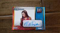 2012 TRISTAR TNA TENACIOUS GOLD AUTO SIGNED CARD MICKIE JAMES WWE WWF DIVA 2/100