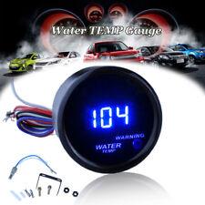 "2"" 52mm Water Temp Gauge Blue Digital LED Temperature Car Universal Auto Meter"