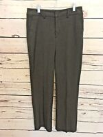NYDJ Not Your Daughter's Jeans Womens Sz 0P 0 Petite Gray Dress Pants  B58