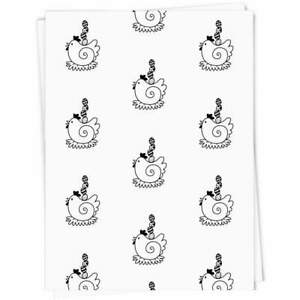 'Easter Chicken' Gift Wrap / Wrapping Paper / Gift Tags (GI016737)