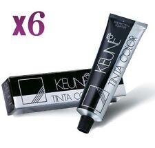 Keune TINTA Colour Permanent Hair Color X 7 Tubes Select Any Shade 60ml Each