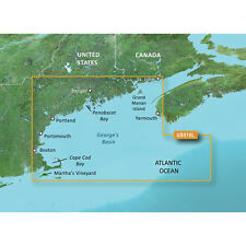 Garmin BlueChart g2 Vision Vus510L Cape Cod Penobscot Bay to St John microSd/Sd