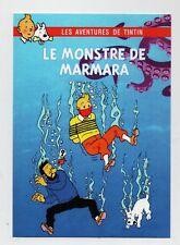 Carte Postale Tintin - LE MONSTRE DE MARMARA - Pastiche éditions Czarlitz 2017