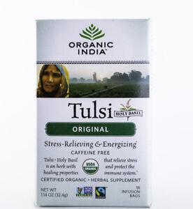 Organic India - Tulsi Original Tea - 18 Bags, 1.14 oz.