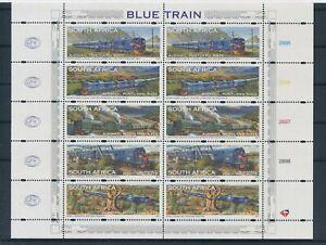 [G43986] South Africa 1997 Trains Good sheet Very Fine MNH
