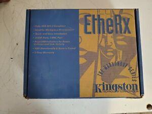 KINGSTON ETHERX WORKGROUP 8-PORT HUB KNE-8TP/S