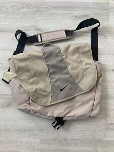 Nike Messenger Bag Medium Pack Tan Shoulder Strap