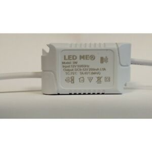 CONSTANT CURRENT LED DRIVER 3W DIMMABLE 12V or 24V POWER SUPPLY TRANSFORMER UK