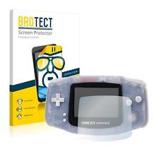2x BROTECT Displayschutzfolie Klar Nintendo Gameboy Advance GBA Schutzfolie