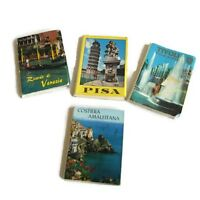 Vintage Postcard Booklets Europe - Italy - Venezia - Pisa - Rome - Tivoli 1970s
