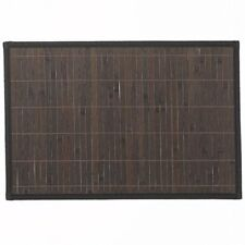 Kela Casa Tischsets Bambus dunkelbraun 45 X 30 Cm