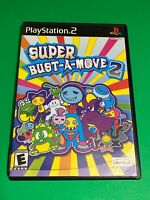 🔥 SONY PS2 PlayStation Two 🔥 💯 WORKING COMPLETE GAME 🔥 SUPER BUST-A-MOVE 2