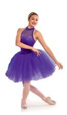 Purple Adult Large Rhinestoned Romantic Dance Costume Tutu STUNNING