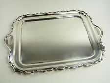 WALKER & HALL Silver Plate - Serving / Drinks Tray - 20""
