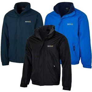Regatta Dover Mens Fleece Lined Windproof Waterproof Jacket Rain Coat RRP £70