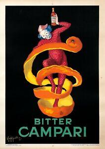 Original Vintage Bitter Campari *Dated 1921* Poster by Leonetto Cappiello