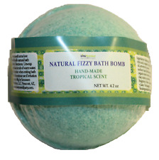Fizzy Bath Bombs Mfg. in United States Natural Tropical and Pura Vida Scents