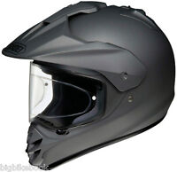 SHOEI HORNET DS MOTORCYCLE HELMET MATT DEEP GREY adventure motorbike