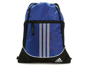 Adidas Alliance II Sackpack Backpack Blue Drawstring Gym Bag Youth Soccer Gears